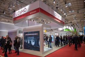 COSMO-Messestand