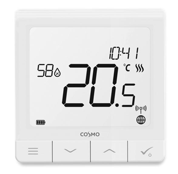 CRTDW Superflaches Raumthermostat